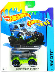 Mattel Hot Wheels - City - Monster Dairy Delivery színváltós kisautó