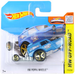 Mattel Hot Wheels - Off-Road - Poppa Wheelie, kék