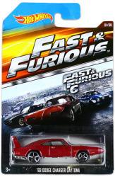 Mattel Hot Wheels - Halálos iramban kisautók - 69 Dodge Charger Daytona