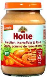 Holle Bio sárgarépa és burgonya, marhahússal 4hónapos kortól - 190g