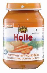 Holle Bio sárgarépa burgonyával 4hónapos kortól - 190g