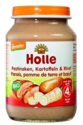 Holle Bio pasztinák és burgonya marhahússal 4 hónapos kortól - 190g