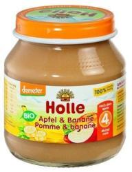 Holle Bio alma banánnal 4 hónapos kortól - 125g