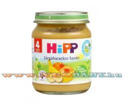 HiPP Sárgabarackos banán 4 hónapos kortól - 125g