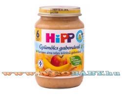 HiPP Banános alma teljes kiőrlésű gabonával 6 hónapos kortól - 190g