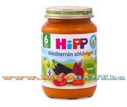 HiPP Mediterrán zöldségek 6 hónapos kortól - 190g