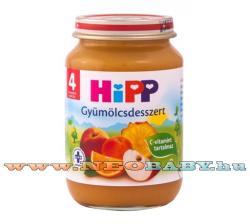 HiPP Gyümölcsdesszert 4 hónapos kortól - 190g