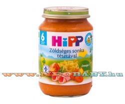 HiPP Zöldséges sonka tésztával 6 hónapos kortól - 190g