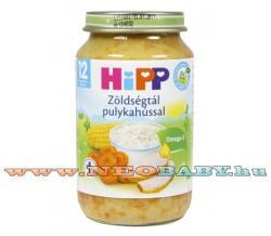 HiPP Zöldségtál pulykahússal 12 hónapos kortól - 220g