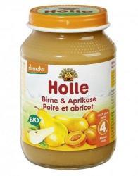 Holle Bio körte sárgabarackkal 4 hónapos kortól - 190g