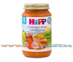 HiPP Zöldséges tészta csirkehússal 12 hónapos kortól - 220g