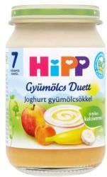 HiPP Gyümölcs Duett: Joghurt gyümölcsökkel 7 hónapos kortól - 160g