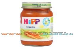 HiPP Sárgarépa bébiétel 4 hónapos kortól - 125g