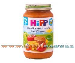 HiPP Paradicsomos tészta borjúhússal 12 hónapos kortól - 220g
