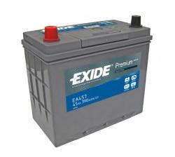 Exide Premium 45Ah 390A EA457