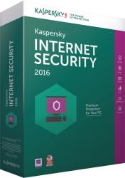Kaspersky Internet Security 2016 Multi-Device EEMEA Edition (5 User, 1 Year) KL1941OCEFS