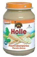 Holle Bio pasztinák püré 4 hónapos kortól - 190g