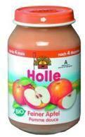 Holle Bio alma bébiétel 4 hónapos kortól - 190g