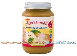 Kecskeméti Brokkoli pulykahússal 5 hónapos kortól - 190g