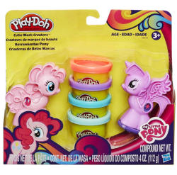 Hasbro Play-Doh: Én kicsi pónim díszítő gyurmakészlet