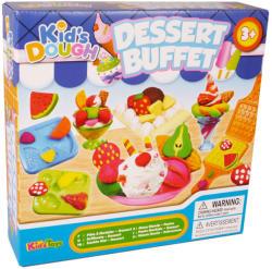 Kid's Toys Kid's Dough - Édesség-készítő gyurmakészlet, 21 db-os