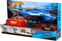 Mattel Hot Wheels - City - Super S.W.A.T. helikopter