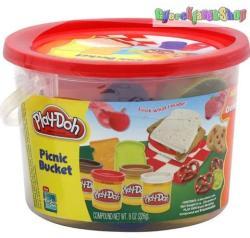 Hasbro Play-Doh - Piknik vödrös gyurmakészlet