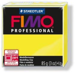 FIMO Professional égethető gyurma - Citromsárga - 85g (FM80041)