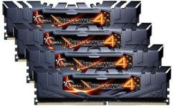 G.SKILL 32GB (4x8GB) DDR4 2400MHz F4-2400C15Q-32GRK