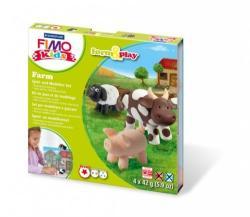 FIMO Kids Form & Play: Farm - égethető gyurma készlet (FM803401LZ)