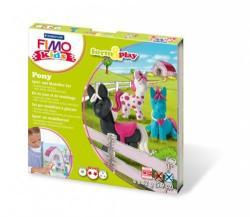 FIMO Kids Form & Play: Pónik - égethető gyurma készlet (FM803408LZ)