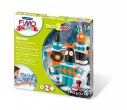 FIMO Kids Form & Play: Robotok - égethető gyurma készlet (FM803403LZ)