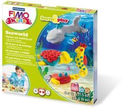 FIMO Kids Form & Play: Tengeri világ - égethető gyurma készlet (FM803414)