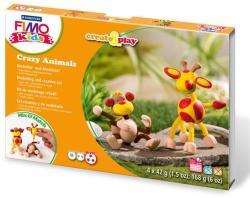 FIMO Kids Form & Play: Majom és zsiráf - égethető gyurma készlet (FM803306)