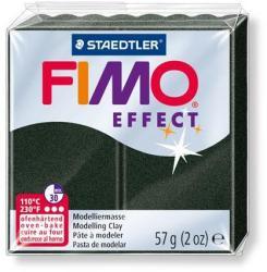 FIMO Effect égethető gyurma - Fekete gyöngyház - 57g (FM8020907)