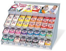 FIMO Kids égethető gyurma display - Vegyes színek - 192x42g (FM8093V1)