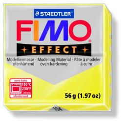 FIMO Effect égethető gyurma - Áttetsző sárga - 56g (FM8020104)