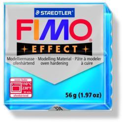 FIMO Effect égethető gyurma - Áttetsző kék - 56g (FM8020374)