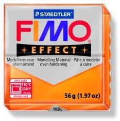FIMO Effect égethető gyurma - Áttetsző narancs - 56g (FM8020404)