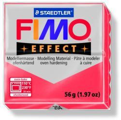 FIMO Effect égethető gyurma - Áttetsző piros - 56g (FM8020204)