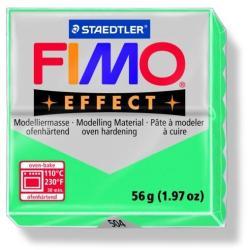 FIMO Effect égethető gyurma - Áttetsző zöld - 56g (FM8020504)