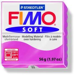 FIMO Soft égethető gyurma - Málna - 56g (FM802022)