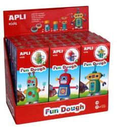 APLI Fun Dough gyurma display - Sétáló robotok