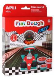 APLI Fun Dough - Versenyautó gyurma (LCA13970)