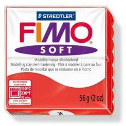 FIMO Soft égethető gyurma - Indián piros - 56g (FM802024)