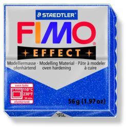 FIMO Effect égethető gyurma - Csillámos kék - 56g (FM8020302)
