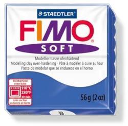 FIMO Soft égethető gyurma - Fényes kék - 56g (FM802033)