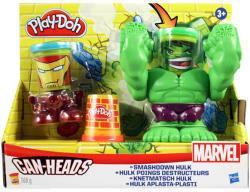 Hasbro Play-Doh: Marvel - Vasember és Hulk gyurmakészlet (B0308)
