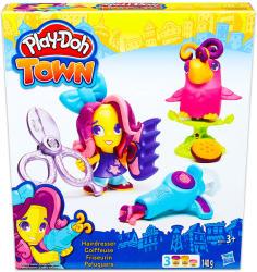 Hasbro Play-Doh: Town - Fodrászat gyurmakészlet (B5973)