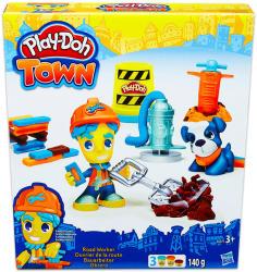 Hasbro Play-Doh: Town - Útépítés gyurmakészlet (B5972)